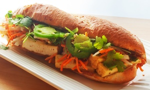 What The Pho: Vietnamese Food at What the Pho (40% Off). Two Options Available.