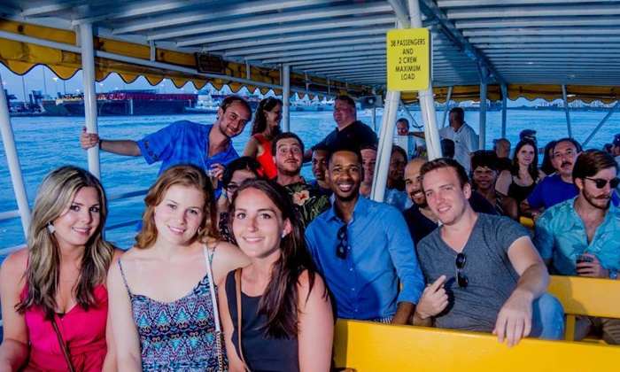 Boat Bar Crawl - Ft. Lauderdale - Downtown Fort Lauderdale: Admission to Boat Bar Crawl for One, Two, or Four (Up to 53% Off)