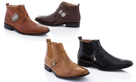 Adolfo Men's Charles 3, Lex 1, or Lex 2 Boot. Multiple Colors Available.