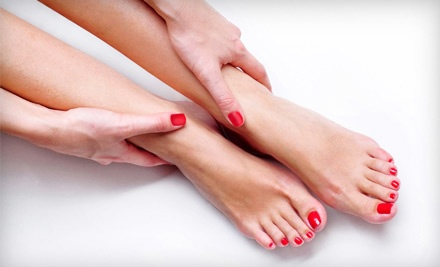 Shellac Manicure, Spa Pedicure, or Both at Mid City Salon (Up to 51% Off)