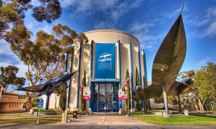 San Diego Air & Space Museum - San Diego Air & Space Museum: Admission for One Adult or One Child to San Diego Air & Space Museum (Up to 30% Off). Four Options Available.