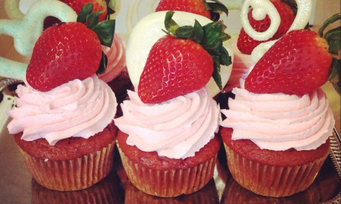 Kodee Cakes and Gourmet Deserts - Kodee Cakes: Cupcakes or Strawberries at KoDee Cakes (Up to 50% Off)