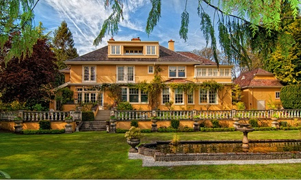 Groupon Deal: 2-Night Stay for Two with Optional Sparkling Wine, Roses, and Chocolates at Villa Marco Polo Inn in Victoria, BC