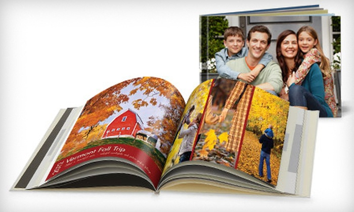"Snapfish: 8""x11"" or 12""x12"" Custom Cover Photo Book from Snapfish (67% Off)"