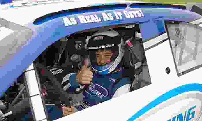 NASCAR Racing Experience - Charlotte Motor Speedway: Three-Lap Ride-Along or Three-Hour Driving Experience from NASCAR Racing Experience (Up to 51% Off)