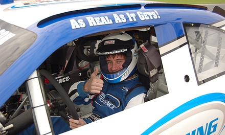 Three-Lap Ride-Along or Three-Hour Driving Experience from NASCAR Racing Experience (Up to 51% Off)