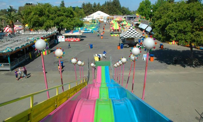 Midway of Fun - Antioch-Pittsburg: $17 for Carnival Rides at Contra Costa Fair ($30 Value)
