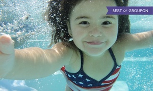 American Swim Academy: Four 30-Minute Indoor Lessons at American Swim Academy (50% Off). Four Locations Available.