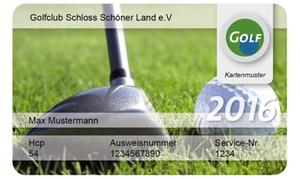 DGM Deutsche Golf Marketing GmbH: International anerkannte Greenfee-Mitgliedschaft für das Jahr 2017 bei DGM Deutsche Golf Marketing GmbH (54% sparen*)
