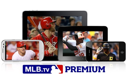 MLB.TV Premium Subscription for One Month or the Rest of the Season (Up to 60% Off)