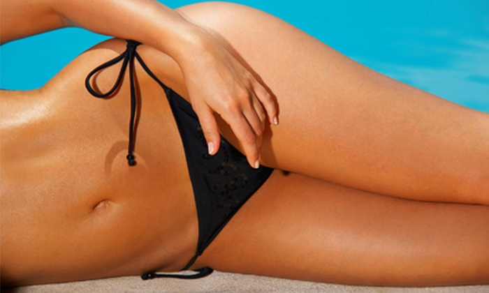 Mor Than Ever Wellness Spa - Burnaby Heights: One or Three Spray Tans at Mor Than Ever Wellness Spa (Up to 56% Off)