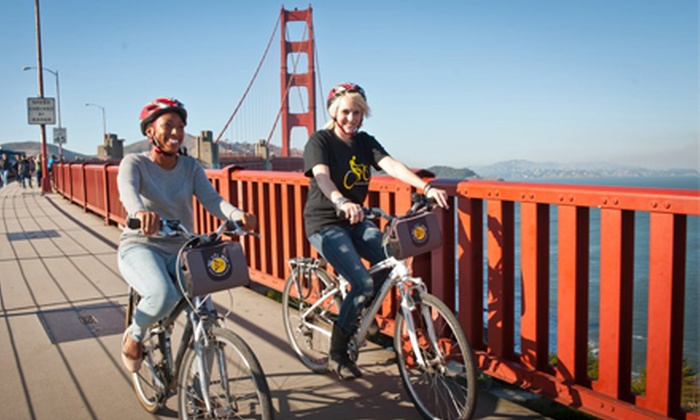 Bay City Bike - Multiple Locations: Bike Rental and Tours for Two or Four from Bay City Bike (Half Off)
