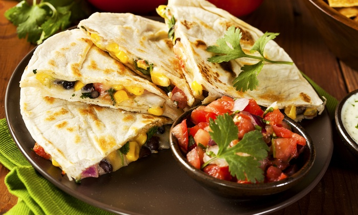 Grande Jakes Fresh Mexican Grill - Multiple Locations: Mexican Food and Drinks Monday–Thursday or Friday–Sunday at Grande Jake's Fresh Mexican Grill (Up to 45% Off)