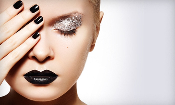 The Junction Salon & Bar - Central Raleigh: $39 for Gel or Shellac Manicure and Junction Signature Pedicure at The Junction Salon & Bar ($87 Value)