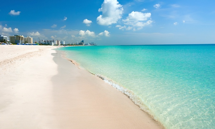 Clifton South Beach - Flamingo / Lummus: One-Night Stay for Two with Optional Massage or Drinks and Breakfast at Clifton South Beach in Miami Beach