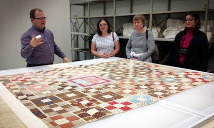 International Quilt Study Center and Museum Admission or Behind-the-Scenes Tour for Two or Four (Up to 50% Off)