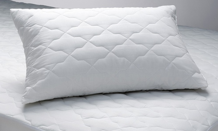 Waterproof Mattress Protector and Pillow Protectors: Waterproof Mattress Protector with Option of Pillow Protectors. Multiple Sizes from $32.99–$69.99.
