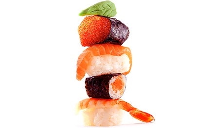 $25 for $40 Worth of Sushi, Japanese Cuisine, and Drinks for Dinner at Sumo Lounge