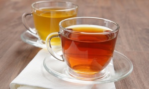 Adagio Teas: Artisan Tea Tasting with Souvenir Teapot for Two or Four at Adagio Teas (Up to 61% Off)