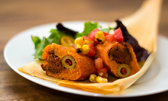 Tucson Tamale Company - Multiple Locations: $11 for a Tamale Meal for Two with Soda, Beer, or Wine at Tucson Tamale Company ($23.98 Value)