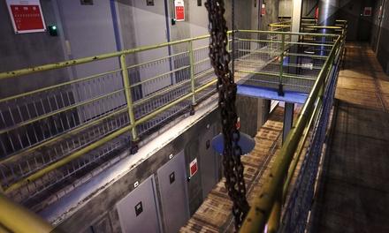 Prison Island: probeer binnen 1,5 uur met 2-10 personen te ontsnappen uit 38 cellen bij Kartfabrique in Utrecht