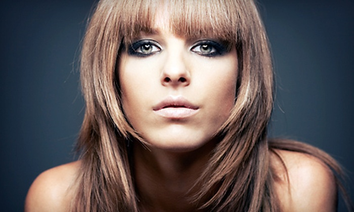 Char Le Blanc Salon & Spa - Joshua Creek : $29 for a Salon Package with Haircut, Wash, and Blow-Dry at Char Le Blanc Salon & Spa ($75 Value)
