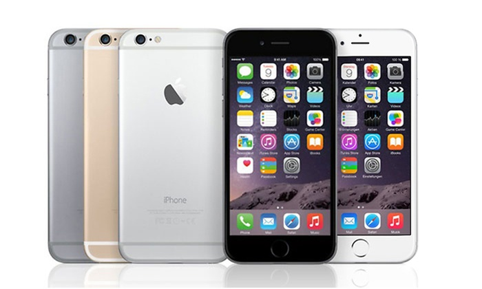 deals on iphone 6 apple iphone 6 16gb smartphone gsm unlocked groupon 3441