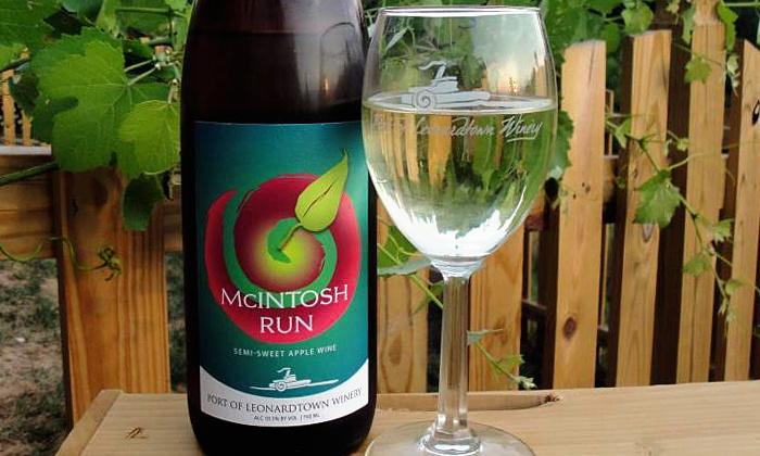 Port of Leonardtown Winery - Leonardtown: Wine Tasting for 2 or 4 with Souvenir Glasses and Bottles of Wine at Port of Leonardtown Winery (Up to 54% Off)