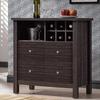 Dakota Contemporary Wine Bar Cabinet