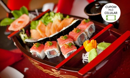 Taiko Sushi Bar – Lago Sul: rodízio para 2 pessoas