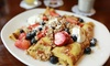 Blueberry Hill - Multiple Locations: Brunch Food and Drinks at Blueberry Hill (Up to 47% Off). Seven Options Available.