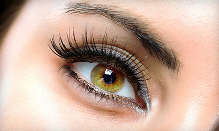 Leisure Time Day Spa - Woodburn: One or Two Full Sets of Eyelash Extensions with Fill Treatments at Leisure Time Day Spa (Up to 57% Off)