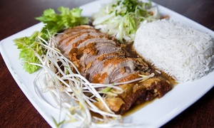 Hanoi 'Pho': Kuchnia wietnamska i chińska: 12,99 zł za groupon wart 20 zł na dowolne pozycje z menu i więcej w Hanoi 'Pho' w Gdyni
