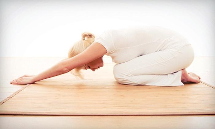 Yoga @ Chester Springs - Upper Uwchlan: 10 or 15 Classes at Yoga @ Chester Springs (Up to 83% Off)