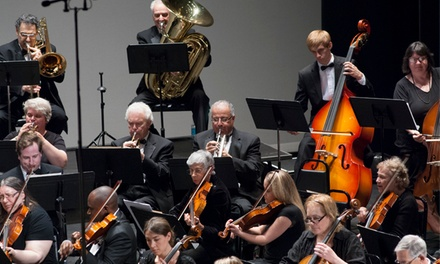 The Monmouth Symphony Orchestra on November 1, February 8, March 22, or May 31 (Up to 41% Off)