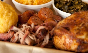 VooDoo BBQ & Grill: New Orleans-Style Barbecue Fare for Two or Four at VooDoo BBQ & Grill (Up to 45% Off)