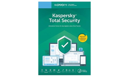 Kaspersky Total Security 2020 para 1, 3, 5 o 10 dispositivos durante 1 o 2 años para descargar