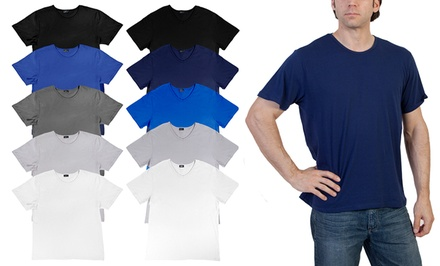 Six-Pack of Agiato V-Neck or Crew-Neck T-Shirts