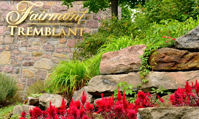 Fairmont Tremblant - Mont-Tremblant, QC: 1-Night Stay for Two in a Two-Double Room with Valet Parking at Fairmont Tremblant in Quebec