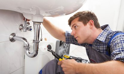"image for Main Sewer Line Camera Inspection or  ""$100 Worth of Plumbing Services from Ninja <strong>Plumber</strong> (Up to 51% Off)"