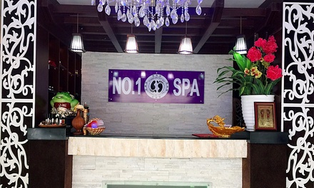 One Hour Foot Spa Therapy or Foot Scrub with Reflexology and Callus Removal at Number One Foot Spa (50% Off)