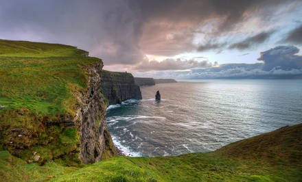 groupon daily deal - ✈ 10-Day Tour of Ireland with Airfare from Great Value Vacations. Price/Person Based on Double Occupancy.