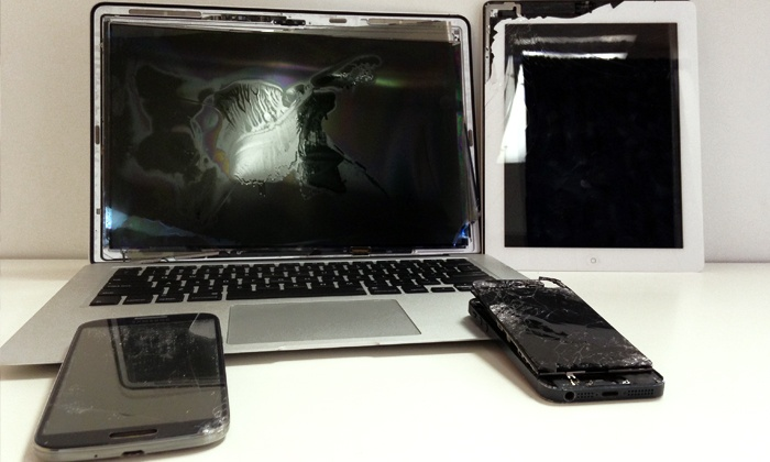 Smartphone and Tablet Screen Repair at Modern Electronics Repair (Up to 48% Off). Five Options Available.