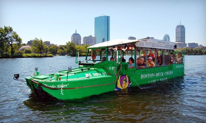 Boston Duck Tours in - Boston, MA | Groupon