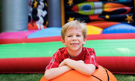 All-Day Bounce-House Rental or Four-Hour Inflatable-Slide Rental from Jump-N-Play (Up to 80% Off)