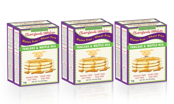 6 Pack Of Cherrybrook Kitchen Gluten Free Pancake Mix Groupon