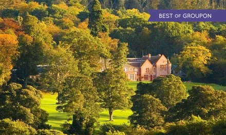 Perth and Kinross: 1 or 2 Nights for Two with Breakfast and Dinner Credit at 4* Murrayshall House Hotel and Golf Courses