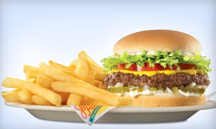 Johnny Rockets - Eastvale: 2, 4, or 10 Burgers, Fries, and Drinks at Johnny Rockets (36% Off)
