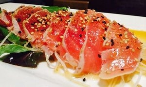 Sawa Japanese Cuisine: Sushi and Japanese Food at Sawa Japanese Cuisine (Up to 44% Off). Two Options Available.