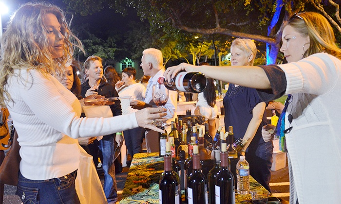 Boca Raton Wine & Food Festival - Florida Atlantic University Campus: Admission for One to Choice of Three Special Events at Boca Raton Wine & Food Festival (31% Off)